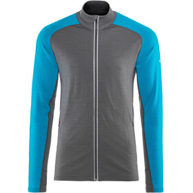 Icebreaker Quantum LS Zip Jacket Men monsoon/alpine